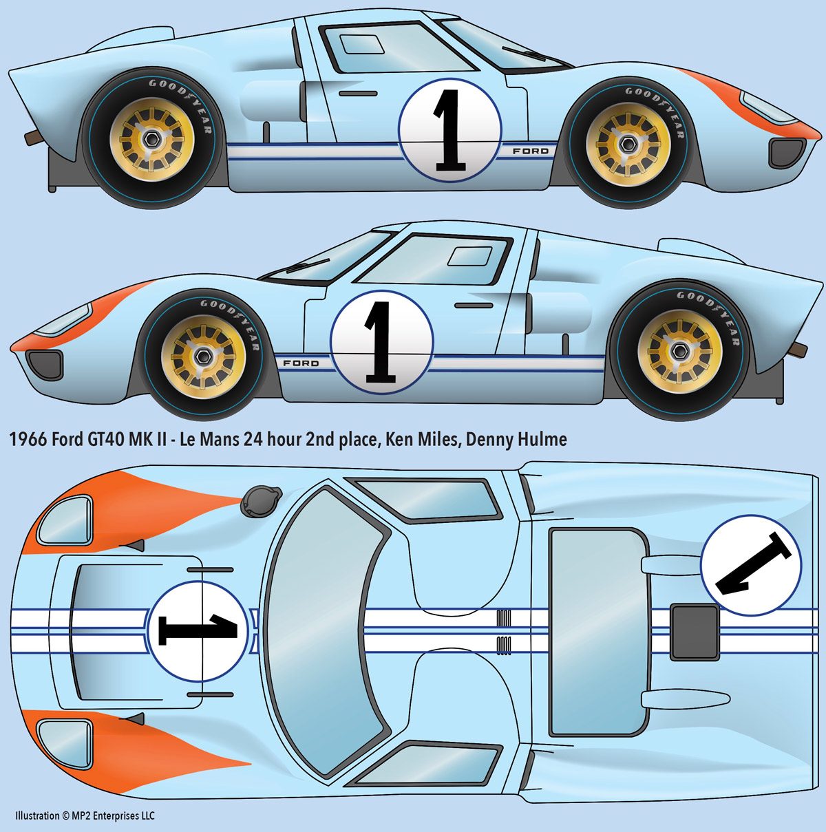 1966 Ford Gt 40 1