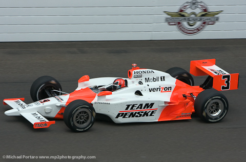 2009 Team Penske - Helio Castroneves