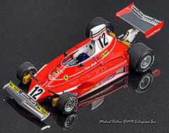 1975 Ferrari 312T, Niki Lauda, Clay Regazzoni, Hasegawa, 1/20, Indycals