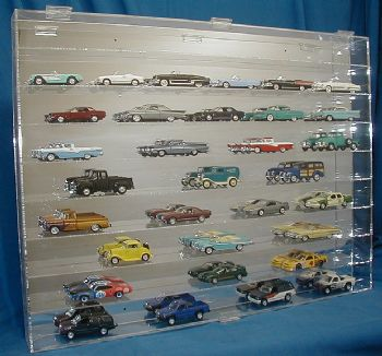 1 43 scale display case 54 car capacity rh indycals net model car display shelves bend or toy car display shelf